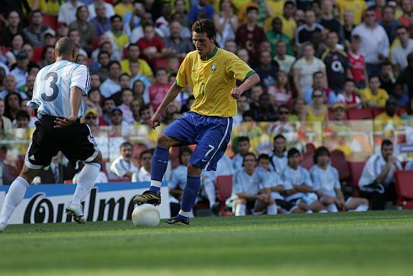 Brazilijos ir Argentinos rinktinių dvikova