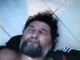 Kadrai ia Bulgarijos VRM filmuotos medžiagos/Henrikas Daktaras Bulgarijoje buvo užsiauginęs plaukus ir barzdą