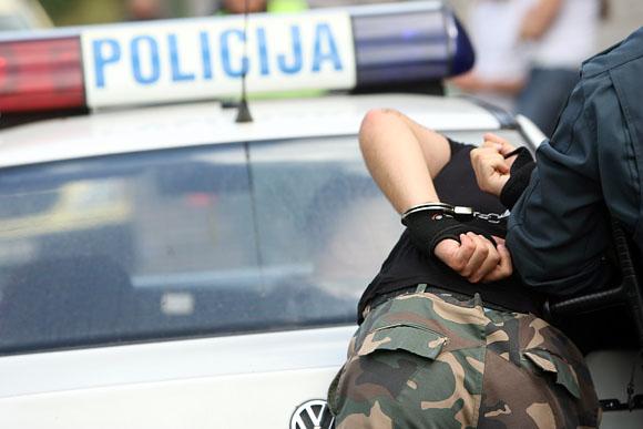 """Kaune vyko konkursas """"2009 metų geriausias Lietuvos viešosios policijos patrulis"""", skirtas gerinti viešosios policijos patrulių profesinį ir fizinį pasirengimą"""