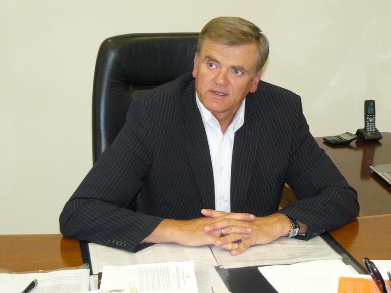 Lietuvos bankų asociacijos prezidentas Stasys Kropa