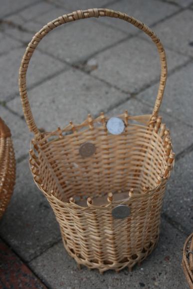 Simbolinis mokinio krepšelis.