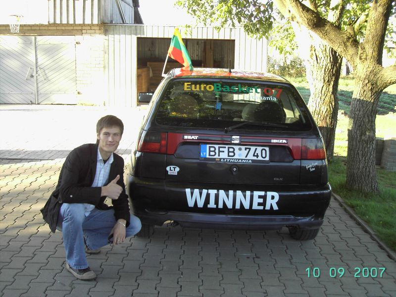 Sirgaliaus Algio Seat Ibiza