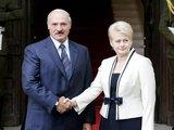 Šarūno Mažeikos/BFL nuotr./Dalia Grybauskaitė ir Aleksandras Lukašenka