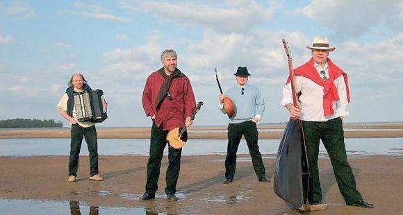 """""""Terem"""" kvartetas Lietuvoje lankosi ne pirmą kartą. A.Konstantinovas – antras iš kairės."""