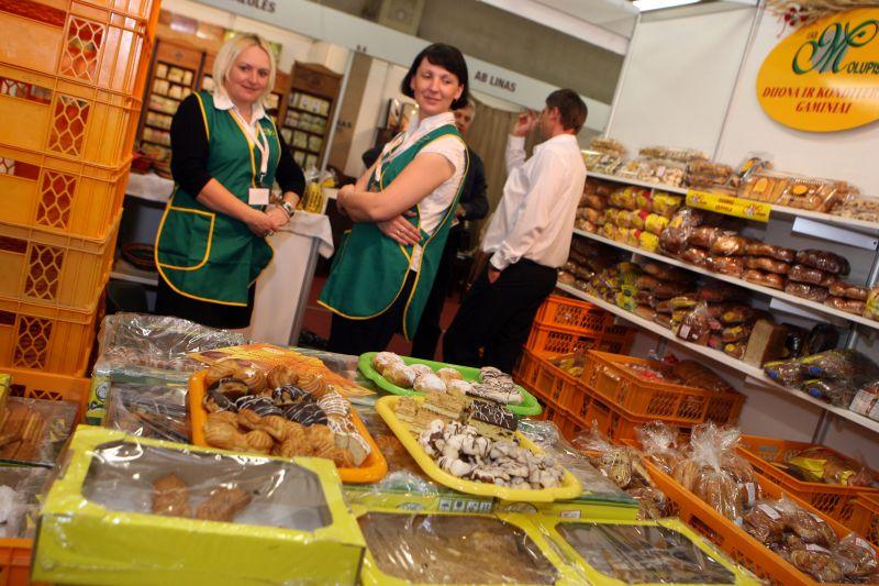 """Parodoje """"Rinkis prekę lietuvišką"""" prekiaujama tik Lietuvoje pagaminta produkcija."""