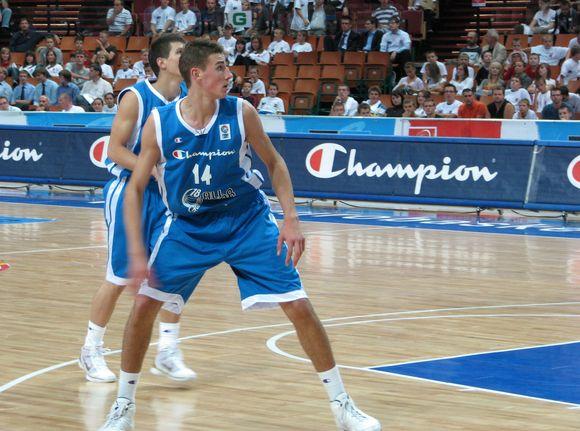 J.Valančiūnas buvo rezultatyviausias Mėlynųjų komandoje