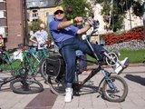 J.Andriejauskaitės nuotr./Klaipedietis Juozas Retkus toki dvirati susikonstravo pats.