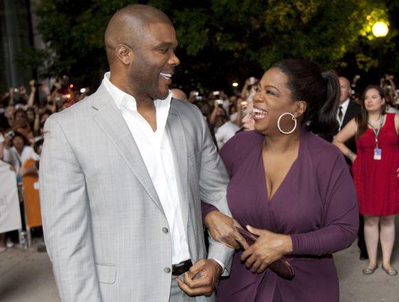 Oprah Winfrey ir Tyler Perry Toronto kino festivalyje