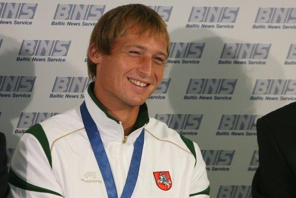 Juliaus Kalinsko/15 minučių nuotr./Mindaugas Griakonis Europos irklavimo čempionato nugalėtojas