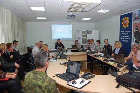 Civilinės saugos treniruotė