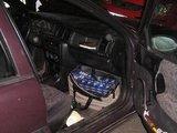Kontrabandinės cigaretės rastos ir vieno klaipėdiečio automobilyje.