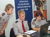 PAGD nuotr./Civilinės saugos treniruotė