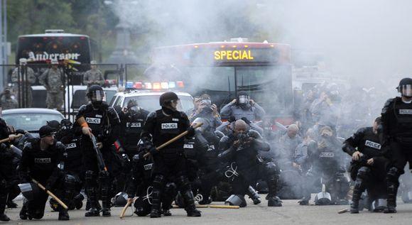 Protestai ir susirėmimai