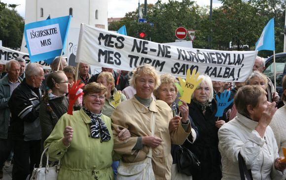 Lietuvos kurtieji, minėdami Tarptautinę kurčiųjų dieną, penktadienį Vilniuje organizuoja eitynes, kuriomis siekiama atkreipti visuomenės ir valdžios dėmesį į sunkumus, su kuriais susiduria negirdintys žmonės.