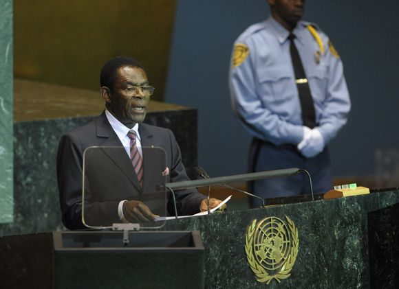 Teodoras Obiang Nguema