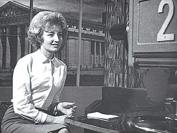1957-aisiais tapusi pirmąja LTV diktore, G.Bigelytė buvo tarsi šios televizijos vizitinė kortelė.