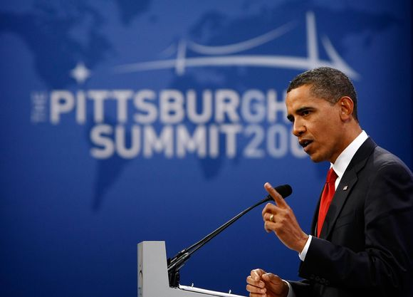Didžiųjų pasaulio valstybių atstovai Pitsburge nepateikė iš jų taip laukto aiškaus krizės įveikimo recepto.
