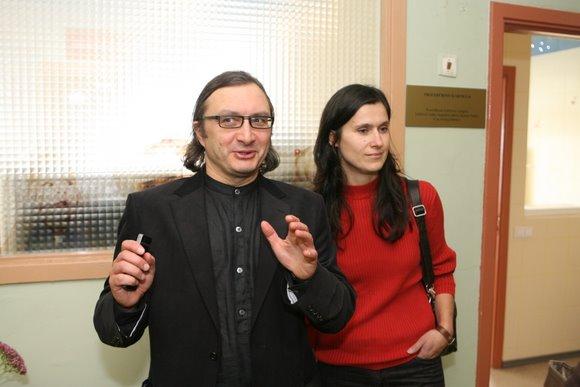 Arūnas Matelis su žmona