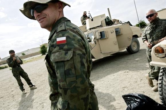 Lenkijos kariai Afganistane