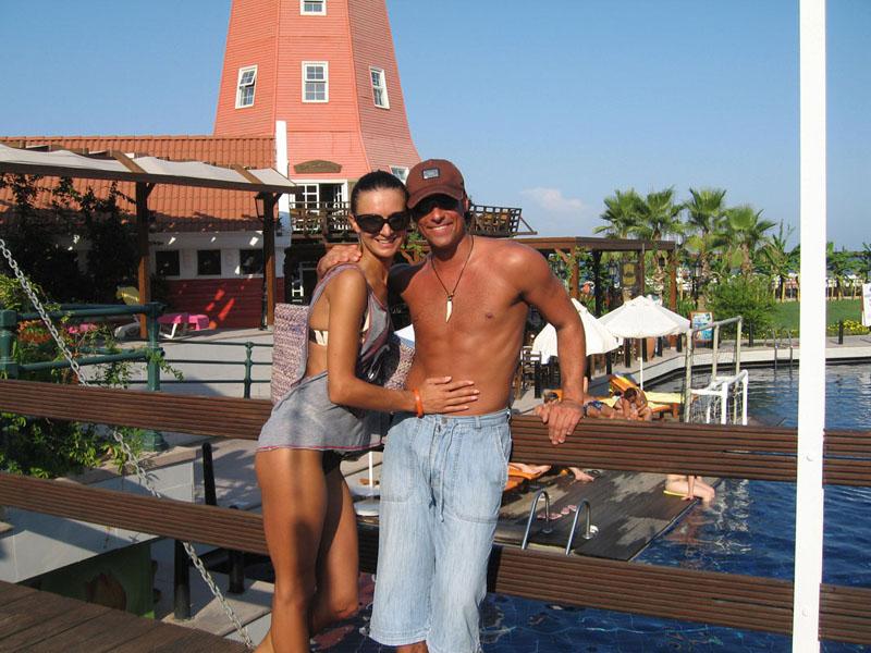 Foto naujienai: Andrius  ir Reda Kandeliai: per medaus mėnesį prisisotino meilės