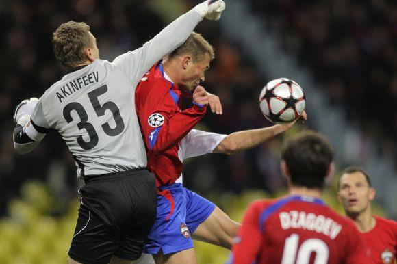 Maskvos CSKA su D.Šemberu šventė pirmą pergalę Čempionų lygoje