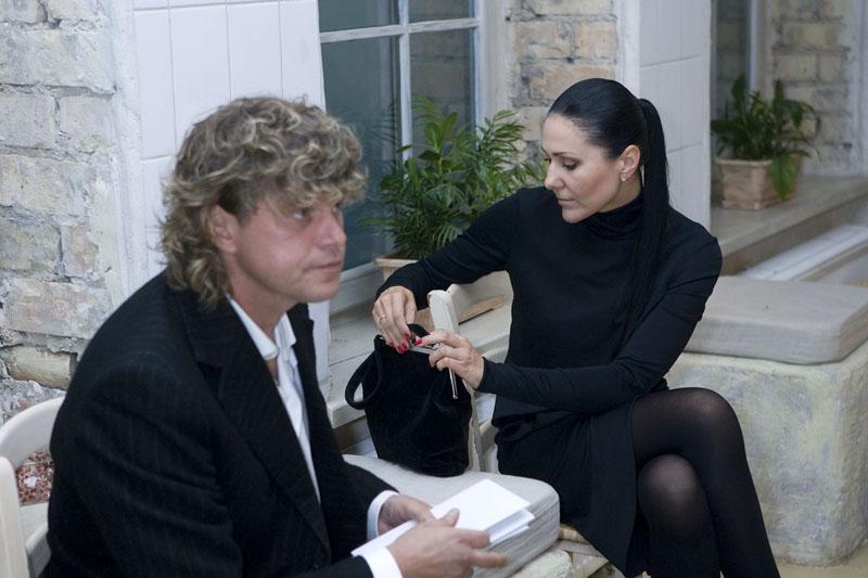 Foto naujienai: Anželika Cholina ir Rimvydas Martinaitis. Tik sena draugystė?