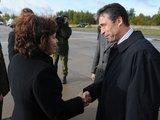 Alfredo Pliadžio nuotr./Krašto apsaugos ministrė R.Juknevičienė ir NATO generalinis sekretorius Andersas Foghas Rasmussenas