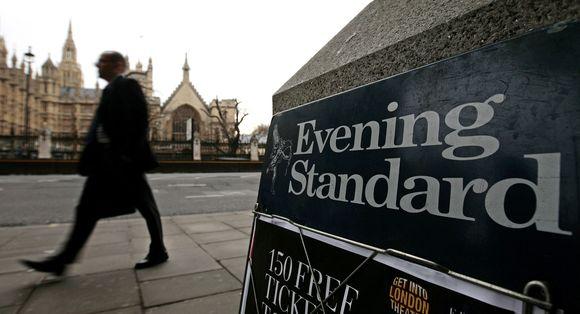 """Daugiau nei 74 proc.  """"Evening Standard"""" akcijų priklauso Rusijos milijardieriui Aleksandrui Lebedevui."""