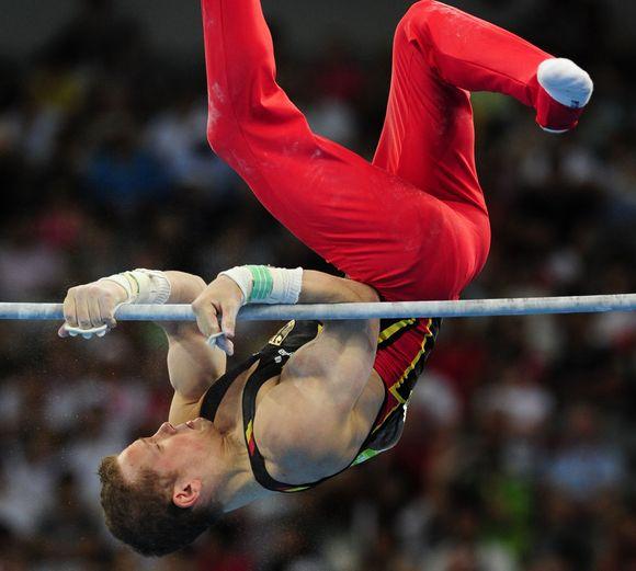 F.Hambuchenas buvo pagrindinis kandidatas į pasaulio čempionato auksą.