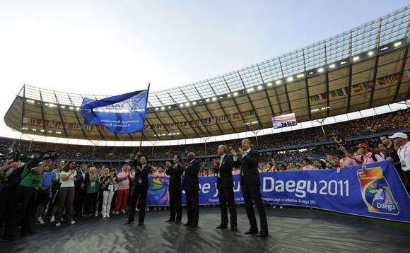 Daegu 2011pristatymas Berlyne šių metų rugpjūtį