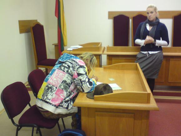M.Ponomariovas teisme išdėstė savo poziciją, vairuotojui belieka sulaukti verdikto.
