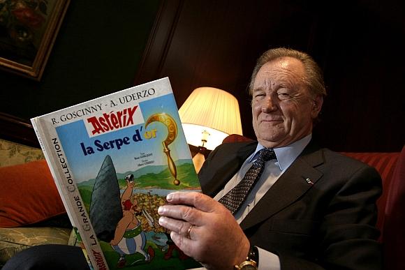 Asterikso kūrėjas Albertas Uderzo
