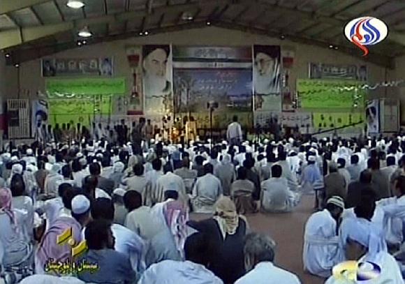 Irano Revoliucinės gvardijos susirinkimas prieš pat mirtininko išpuolį.