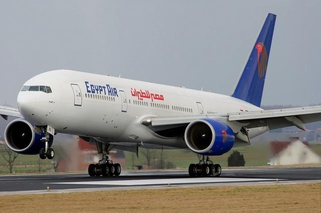 Egypt Air lėktuvas