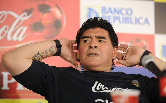 D.Maradona nesigaili savo pasakytų žodžių