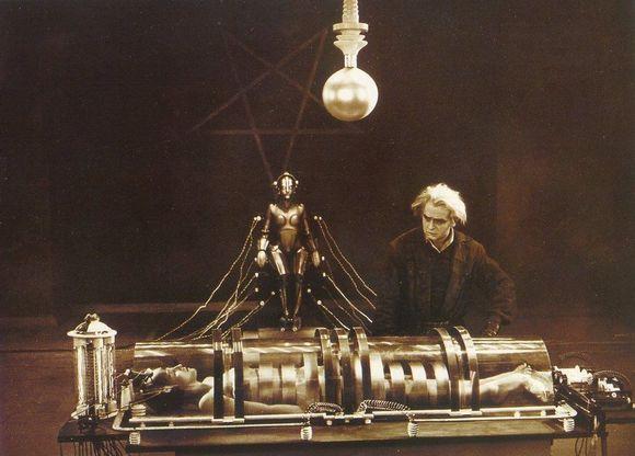 "Legendinis filmas ""Metropolis"""