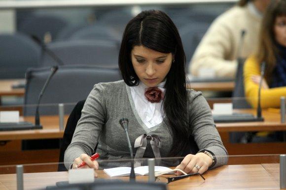 Vilniečiai laiko Konstitucijos egzaminą.