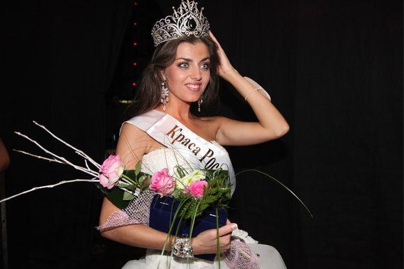 Gražiausia Rusijos mergina išrinkta 23 metų Jevgenija Lapova iš Novosibirsko.