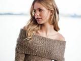 """""""Lily of France"""" nuotr./Megztinis, atindengiantis gražius pečius"""
