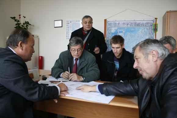 Rajono valdžios ir statybininkų atstovų susitikime aptartos komplekso statybų detalės, eiga