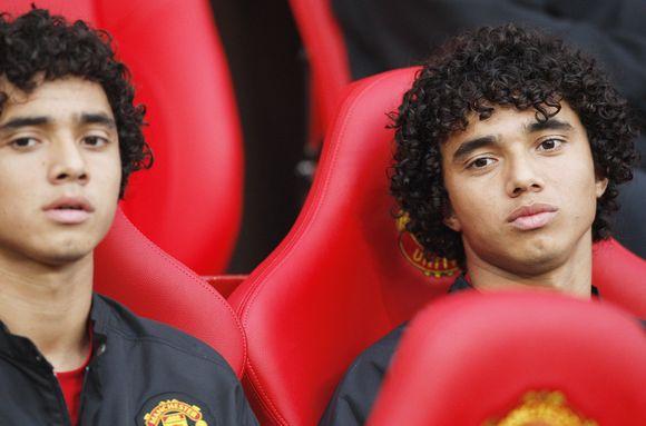 """""""Manchester United"""" futbolininkai – Fabio ir Rafaelis da Silvos"""