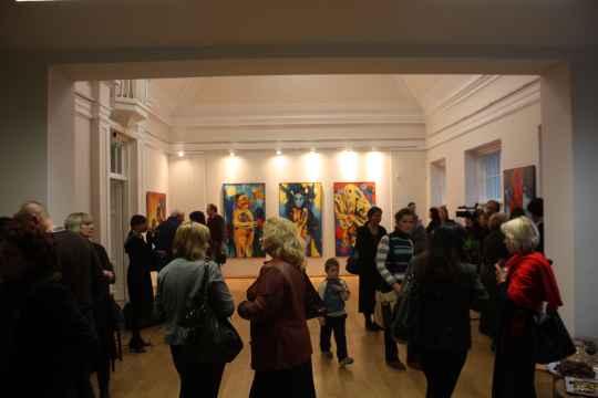 V.Marcinkevičiaus paroda sudomino ne tik kolegijos bendruomenę