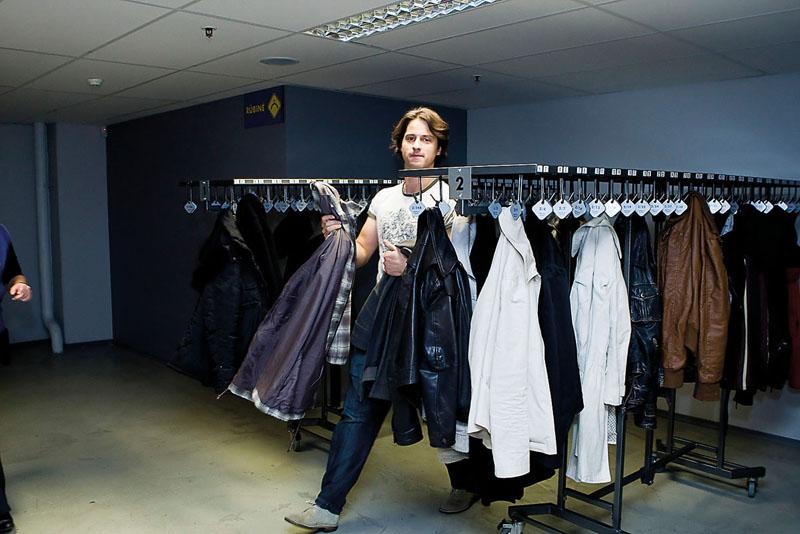 Foto naujienai: Vytautas Rumšas – drabužininkas