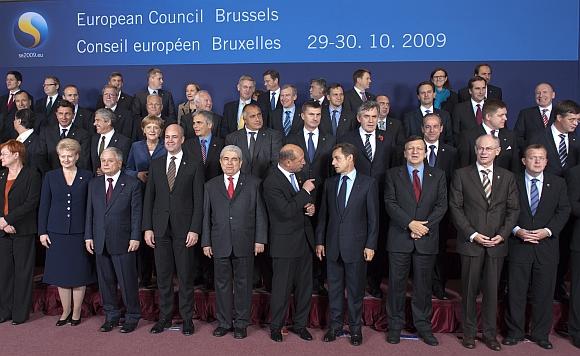 Europos Sąjungos valstybių lyderiai susirinko Briuselyje.