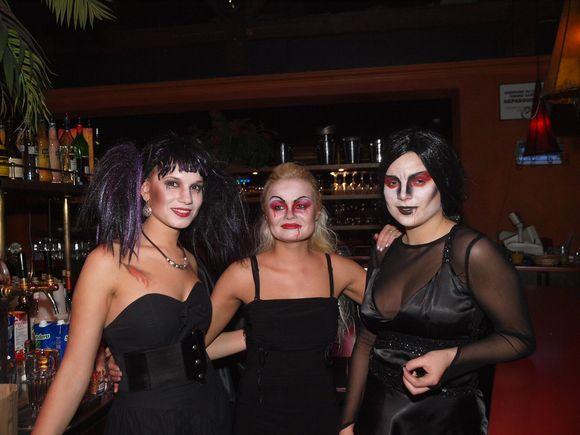 Helovino šventės akimirka