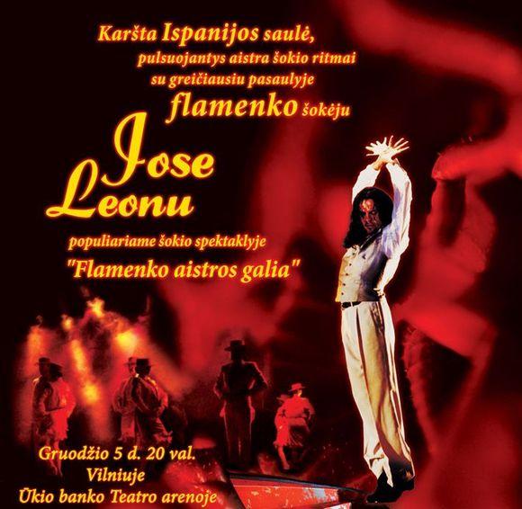 "Spektaklis ""Flamenko aistros galia"""