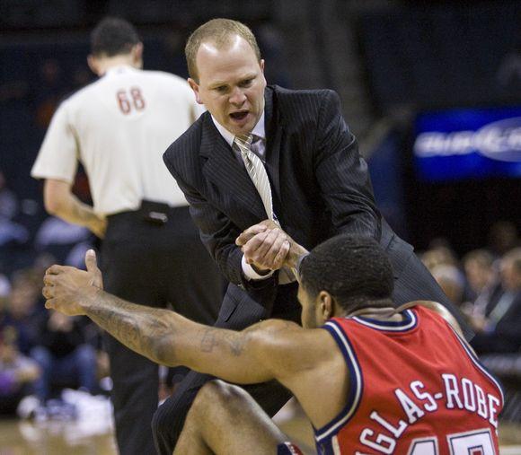 """""""Nets"""" puolėjas Ch.Douglasas-Robertsas yra pirmasis NBA lygos žaidėjas susirgęs kiaulių gripu"""