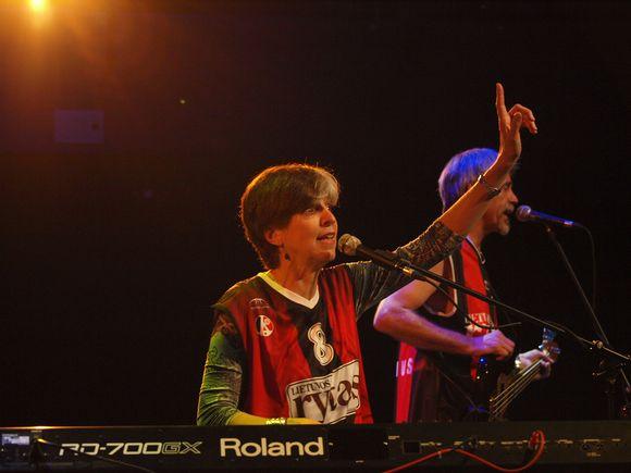 Pirmadienio vakarą Vilniuje koncertavo amerikiečių atlikėja Marcia Ball su grupe, surengusi vienintelį koncertą Baltijos šalyse.