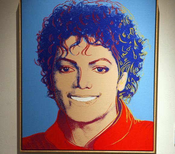 A.Warholo sukurtas M.Jacksono portretas