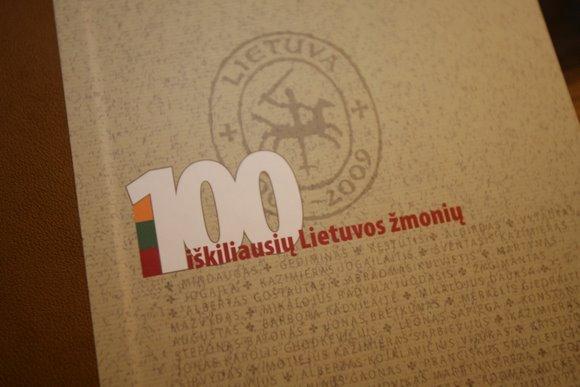 Naujame albume - 100 labiausiai Lietuvai nusipelniusių asmenų biografijų.